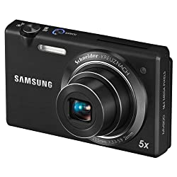 Samsung PL120 14.2MP Point and Shoot Camera (Silver) with 5x Optical Zoom