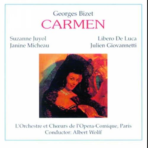 Bizet : Carmen 1951. Wolff, Juyol, De Luca, Micheau.