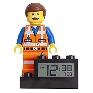 LEGO Movie 2 9003967 Emmet Minifigure Kids Light Up Alarm Clock  LEGO