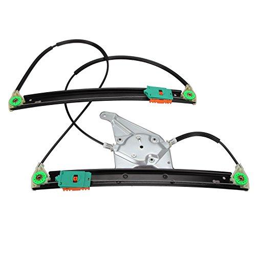 FLYN Elektrisch Fensterheber Reparatursatz Set BMW vorne links mit 3 Türer 8L3837461