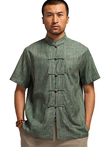 Insun -  Camicia Casual  - Uomo Green