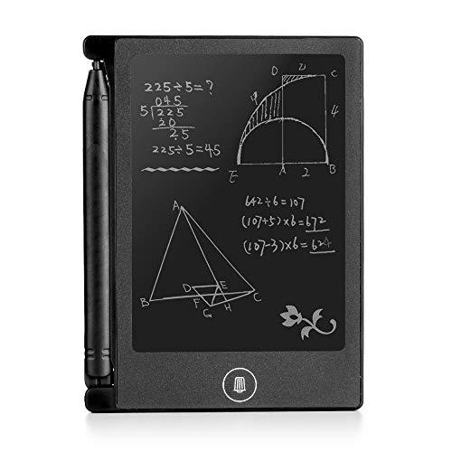 DAM. DMAB0023C00 Zeichen-/Schreibtafel, 4,4-Zoll-LCD Flüssiges Glas, empfindlich gegen Drucken, integrierte Halterung. Writing Tablet. Schwarz -