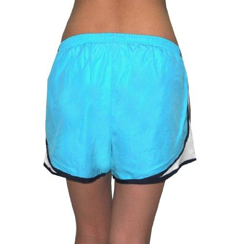 Dri-Fit Running Jockey Femmes / Shorts de sport avec Built-In Panty blue