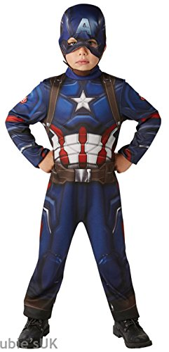 Rubie's IT620678-L - Costume Capitan America Classic, L