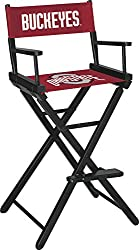 Imperial Officially Licensed NCAA Furniture: Tall (Bar Height) Directors Chair, Ohio State Buckeyes