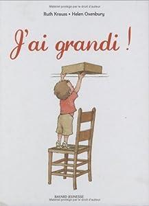vignette de 'J'ai grandi ! (Ruth Krauss)'