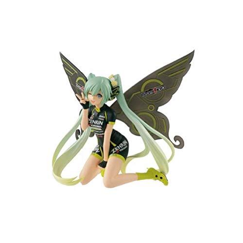 Third Party - Figurine Vocaloid - Hatsune Miku Racing Miku 2017 Team Ukyo Cheering 13cm - 3296580270675