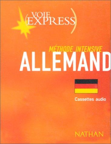 Méthode intensive Allemand (4 cassettes)