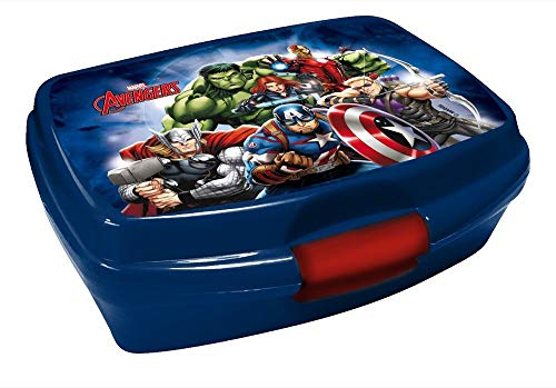 Marvel Avengers - Kinder Brotdose / Lunchbox / Sandwich Box - tolle Geschenkidee