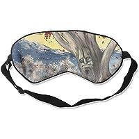 Eye Mask Eyeshade Winter Painting Sleeping Mask Blindfold Eyepatch Adjustable Head Strap preisvergleich bei billige-tabletten.eu