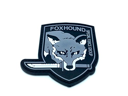 Foxhound Special Force Group Metal Gear Solid Airsoft Klettverschluss PVC Patch - Forces Special Punisher
