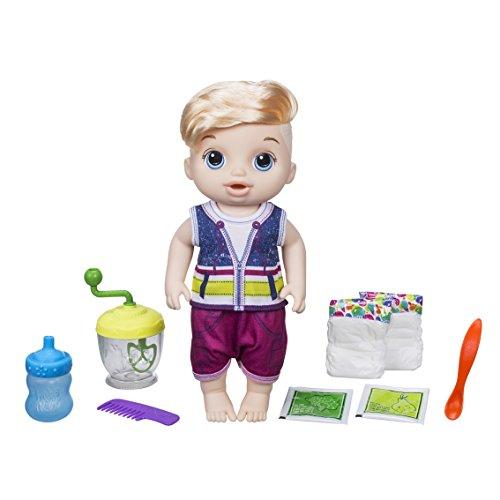 Unbekannt Baby Alive e0635es0Boy Sweet Löffel Blonde Baby Puppe (Alive Baby Puppe Interaktive)