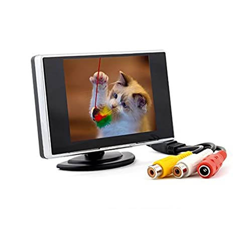 3.5 Inch TFT-LCD Car Reverse Monitor Car DVD Monitor with