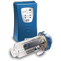 Gre EES050PH - Clorinatore con controllo PH per piscine interrate fino a 50m³ - produzione di cloro 10-12 g/h