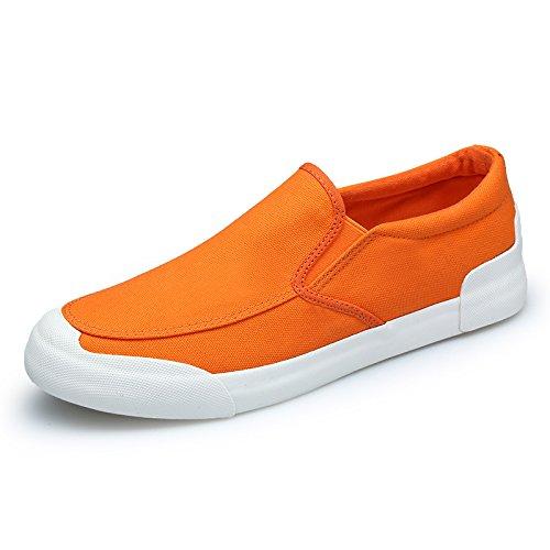 uomini uomini espadrilli moda casual espadrilli scarpe casual Orange
