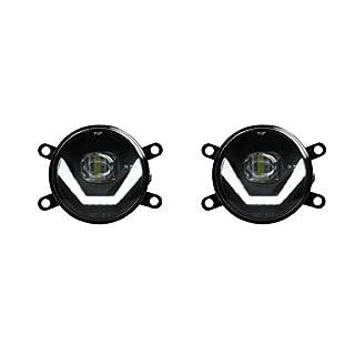 LED Nebelscheinwerfer + Tagfahrlicht Black Cree Chip