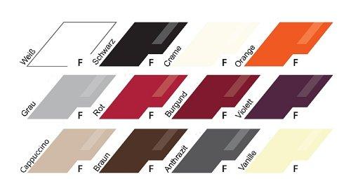 12-teilige modulare Designer Hochglanz Wohnwand Briks I mit großer Farbauswahl - 3