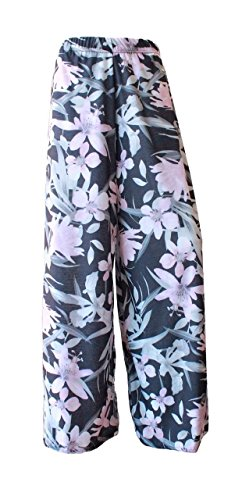 Generic -  Pantaloni  - Donna Lilly Floral Pink