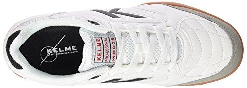 Kelme Precision, Scarpe da Calcetto Uomo Bianco (bianco)