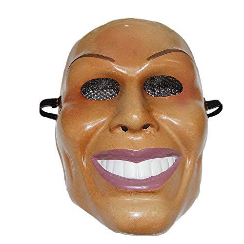 B-kreativ die Säuberung männliche Maske Grin Halloween-Film Horror Fancy Kleid Kiss Me God Smiling Deluxe UK
