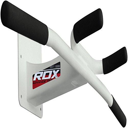 RDX Klimmzugstange Reckstange Wand Armschlaufen Iron Pull Up Übungen rutschfeste Griffe Türrahmen Klarfit Wandmontage Decke Fitness Gym