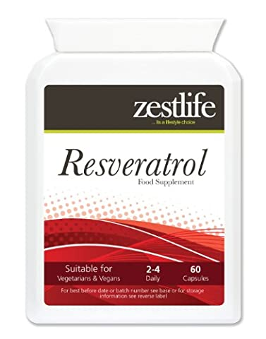 Resveratrol 2 x 60 An Antioxidant that may help lower cholesterol.