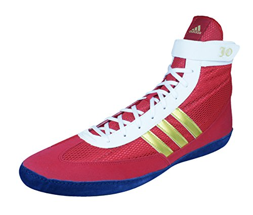 adidas Combat Speed 4 b Chaussures de Lutte des Hommes red