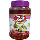 Tops Gold Mixed Pickle Pet Jar, 1kg
