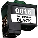 Cartucho de tinta, reemplaza a 10N0016E n.16 / M30 / 10N0217 n. 17 / Dell T0529 Negro Compatible 12,5 ml 16C