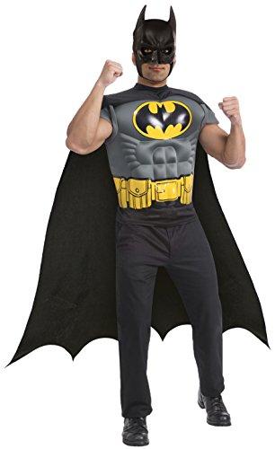 Rubie's Kit muskulösen Batman Kostüm für Herren (Kostüm Batman Grau)