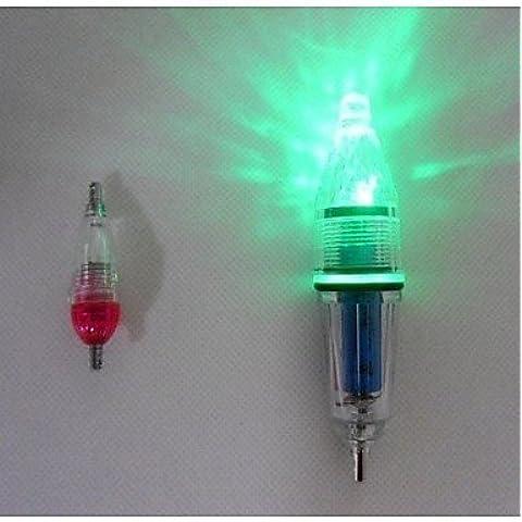 ZQ Noctilucent fshing lampade 4PCS/Set 7,7g con luce a LED per attirare Pesce sott' acqua con lunga distanza illuminazione - Deep Water Lampada