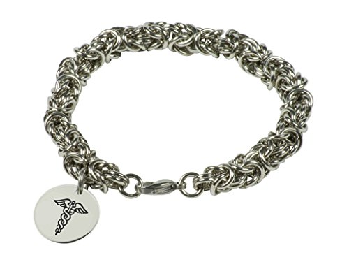 tangle-medical-alert-braccialetto-in-my-bugle-collana-bizantina-in-acciaio-inox-con-id-ciondolo