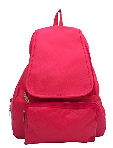 Vintage Women's Backpack Handbag(Pink,Bag 148)  available at amazon for Rs.440