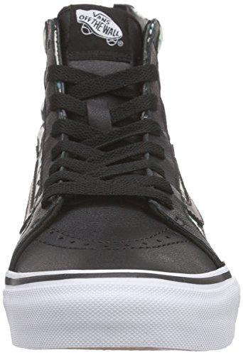 Vans  U Sk8-Hi, Chaussures en forme de bottines mixte adulte Noir / Beige