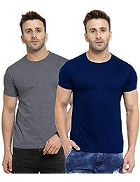 Scott International Men's Regular Fit T-Shirt (Pack of 2)