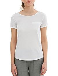edc by ESPRIT Damen T-Shirt 047cc1k003, Violett (Violet 3 507)