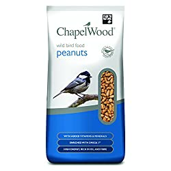 Chapelwood NEW Peanuts 5kg, For Wild Birds.