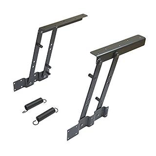 Aiber Set für Couchtisch-Mechanismus, Möbelfederscharnier, Beschläge, Halterung, hebt bis 15,2 cm