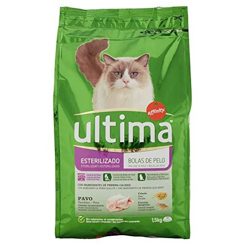 Ultima Cat Sterilizzati Controllo Palline Pelo - 1.5 kg