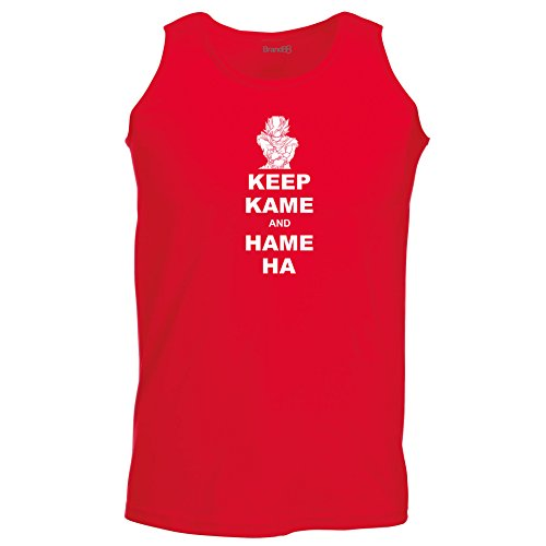 Brand88 - Keep Kame and Hame Ha, Unisex Athletic Weste Rot