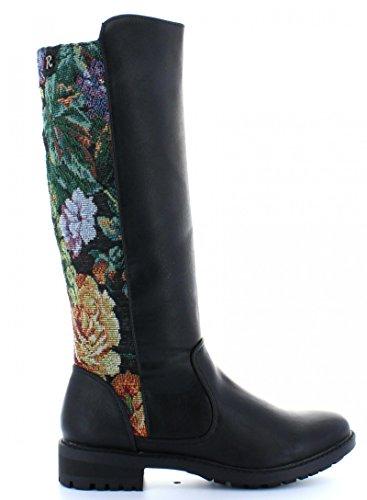 Stivali per Donna REFRESH 61187 COMBINADO NEGRO size-map 37