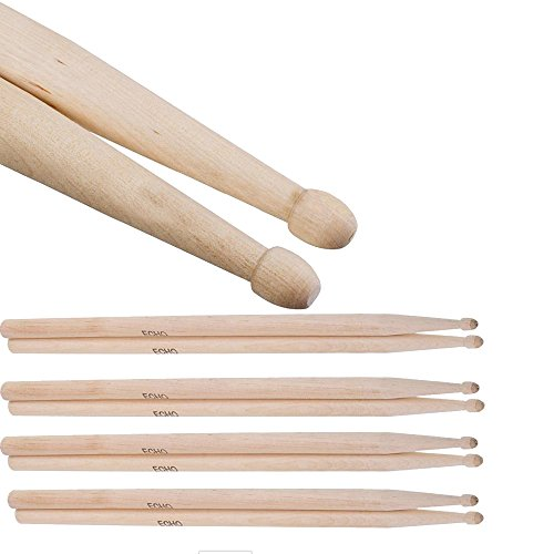 yihya-4-pairs-of-5a-maple-series-drum-beater-sticks-with-wooden-tips-for-drum-set-lightweight-parts-