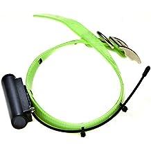 TINYLOC Minihond - Collar emisor radio tracking, 433 MHz, 1'' x 23'' (aprox. 2'5 x 57'5 cm), verde neón