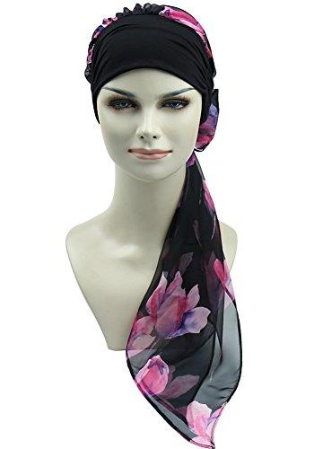 FocusCare Brustkrebs turbane für Frauen Headwrap schals chemotherapie hüte Chemo Kopfbedeckung