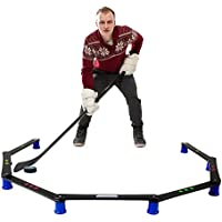 Hockey Revolution Stickhandling Training Aid, Equipment for Puck Control, Reaction Time and Coordination - MY ENEMY PRO by Hockey Revolution