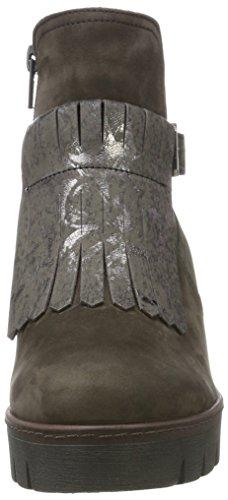 Gabor Damen Jollys Stiefel Grau (89 Anthrazit (Cognac))