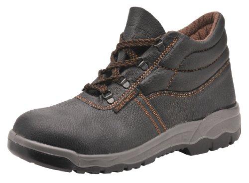 Porta Oeste Fw10bkr45 Unisexo-adulto Sapatos De Segurança Preto (preto)
