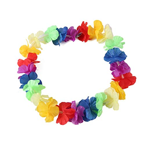 irlanden Kränze LED Blumenkranz für Stirnband Hula, Böhmen Girlanden Blumenkranz für Party Favors Beach Theme (Mehrfarbig) ()