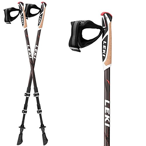 Leki Traveller Carbon Nordic Walking Stöcke (1 Paar)