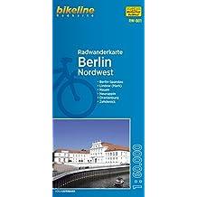 Berlin Nordwest (RW-B1) Berlin-Spandau - Lindow (Mark) - Nauen - Neuruppin - Oranienburg - Zehdenick, Maßstab 1:60.000, wetter- und reißfest